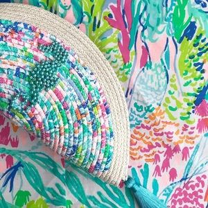 Handmade Lilly Pulitzer clutch